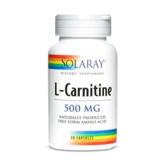 L-Carnitine 500mg de Solaray vous aide à éliminer les graisses.