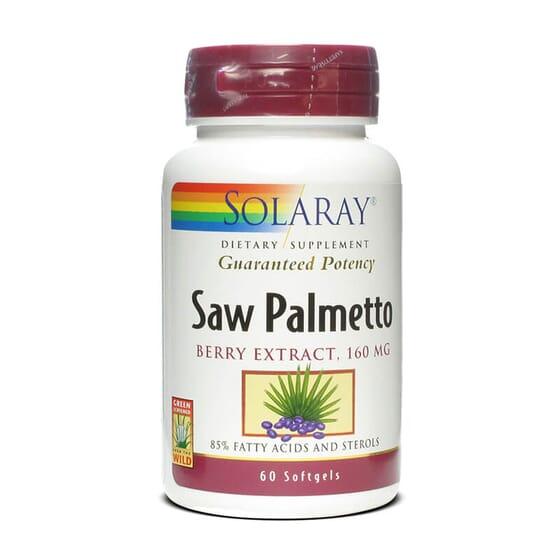 Saw Palmetto aide à la santé de la prostate.