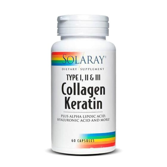Essayez Collagène Kératine de Solaray pour des ongles, une peau et des cheveux en pleine santé !