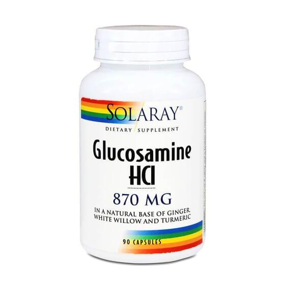 Glucosamine HCl 870 mg de Solaray prend soin de vos articulations.
