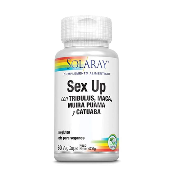 SEX UP 60 VCaps Solaray