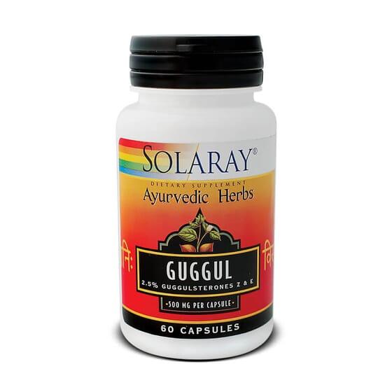 Guggul 450 mg contribue au maintien du cholestérol à des taux normaux.