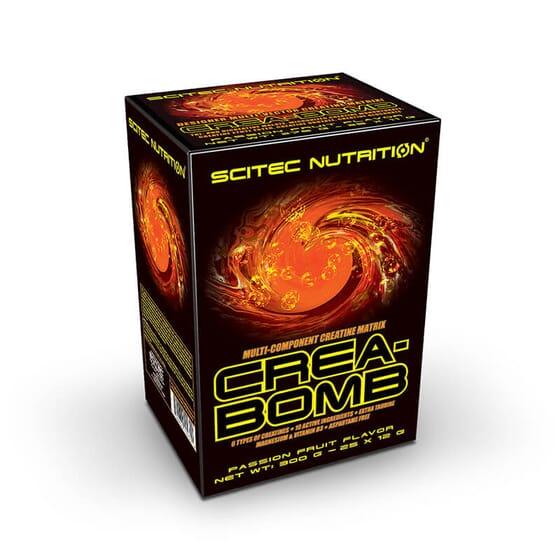 Crea-Bomb vous permet d'augmenter vos performances et votre masse musculaire.