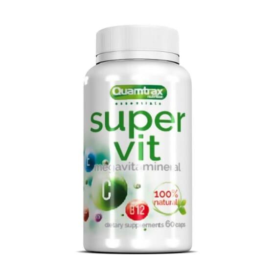 Super Vit fornece uma excelente quantidade de vitaminas e minerais.