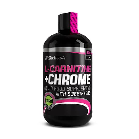 Rende ao máximo nos teus treinos com L-Carnitina + Cromo da BioTech USA.