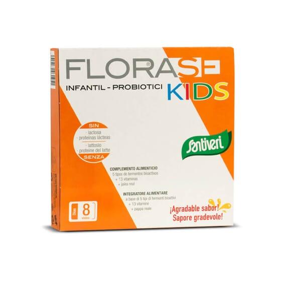 Florase Kids está indicado para equilibrar a flora intestinal das crianças.