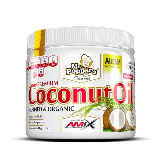 L'huile de coco est idéale pour les fritures.