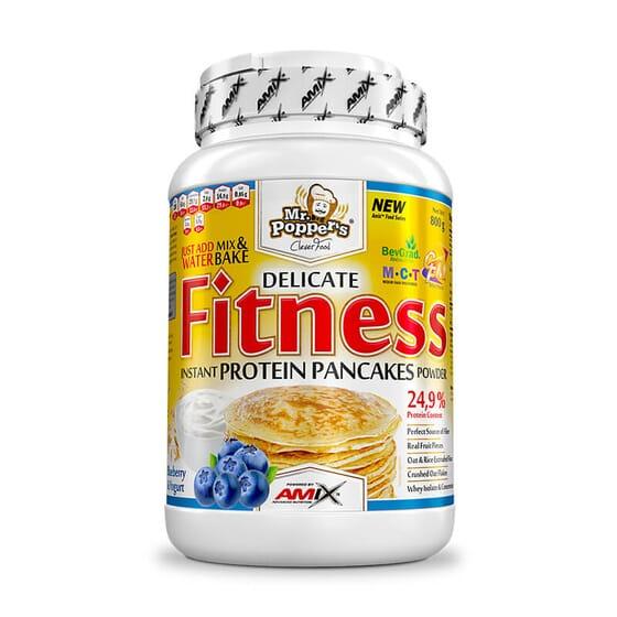 Fitness Protein Pancakes est parfait pour des petits-déjeuners sains.