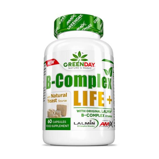 B-Complex LIFE-FORTE+ cobre os requisitos diários das vitaminas B.