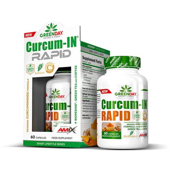 Curcum-IN Rapid contient de l'extrait de curcuma breveté.