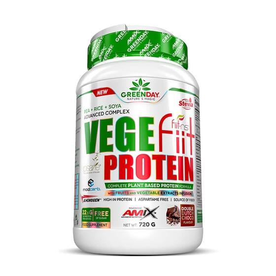 Vegefiit Protein est une combinaison de protéines d'origine végétale.