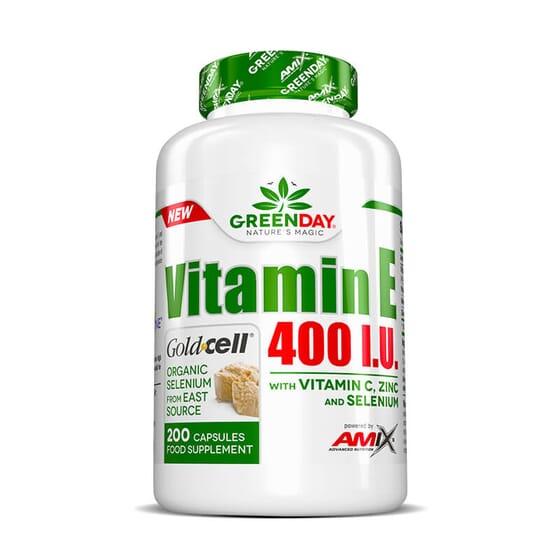 Vitamin E 400 I.U. LIFE+ contém uma alta concentração de vitamina E.