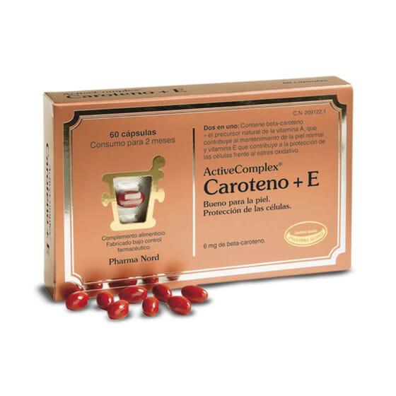 ActiveComplex Carotène+E protège les cellules du stress oxydatif.