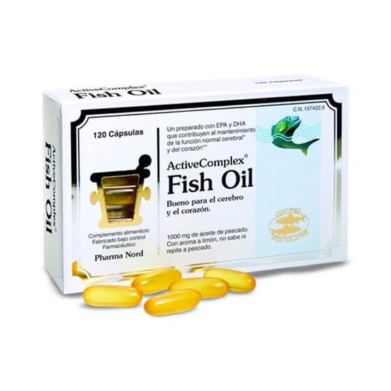 ActiveComplex Fish Oil é rico em ácidos gordos ómega 3.