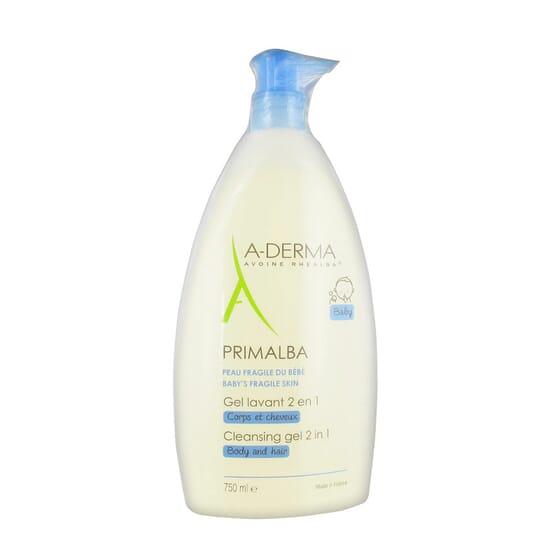 A-DERMA PRIMALBA GEL NETTOYANT 2 EN 1 750 ml