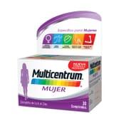Multicentrum Mujer el multivitamínico formulado para las necesidades de las mujeres.