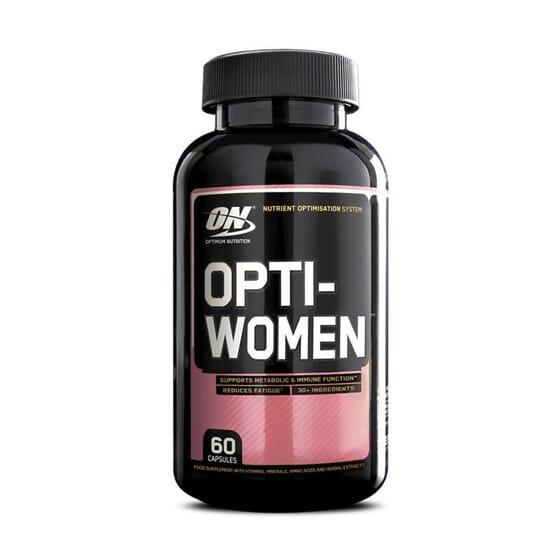 Opti-Women, fórmula multivitamínica para mulheres.