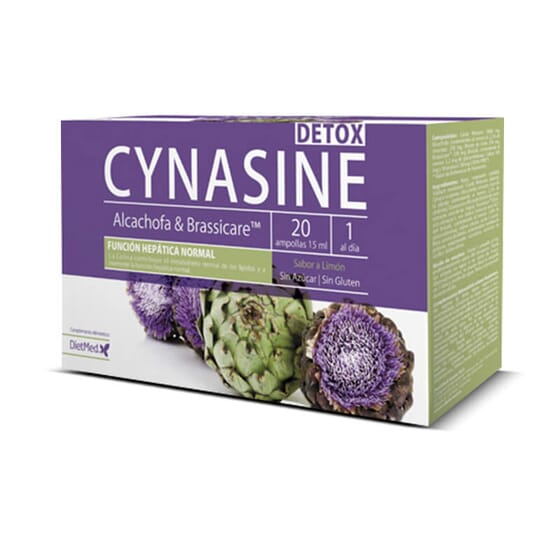Cynasine Detox a des propriétés détoxifiantes.