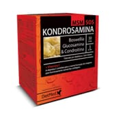 Kondrosamina MSM SOS disminuye la inflamación articular.