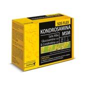 Kondrosamina SOS Flex aumenta la flexibilidad articular.