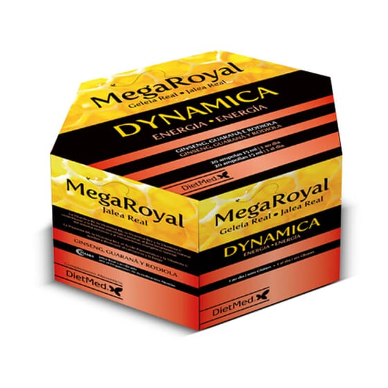 Plus d'énergie pour la journée avec Megaroyal Dynamica !