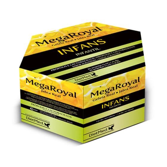 Megaroyal Infans renforce le système immunitaire des plus petits.
