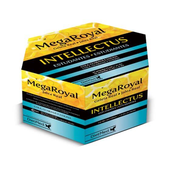 Megaroyal Intellectus améliore la performance mentale et la concentration.
