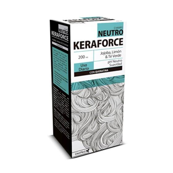 Keraforce Neutro augmente la résistance des cheveux.