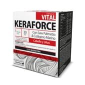 Keraforce Vital aumenta la resistencia del cabello y las uñas.