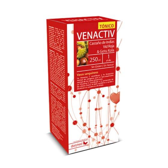 O Venactiv alivia a sensação de pernas cansadas.