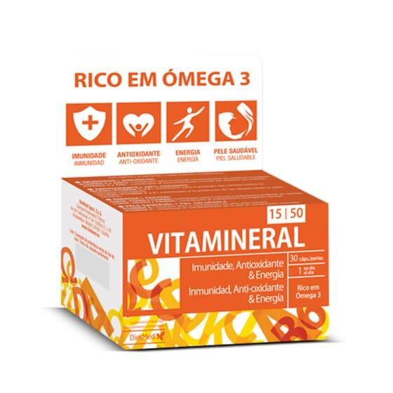 Vitamineral 15/50 es un multivitamínico.
