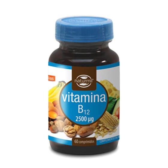 Refuerza tu dieta con Vitamina B12 2500µg.