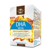 O DHA 500mg favorece a manutenção da visão e o funcionamento do cérebro.