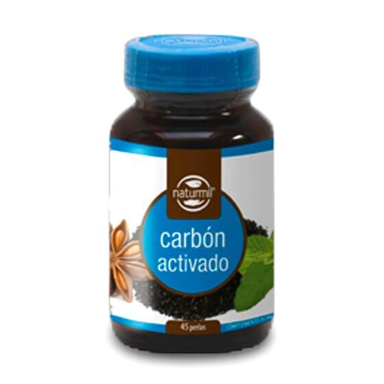 Melhora e cuida da tua saúde digestiva com o Carvão Ativado Composto da Naturmil.