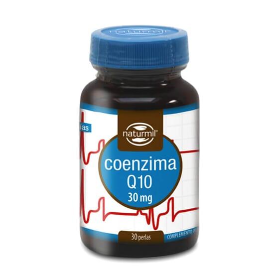 Cuida da tua saúde com a Coenzima Q10 30mg da Naturmil.