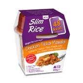 Slim Rise Chicken Tikka Masala está elaborado com farinha de konjac.