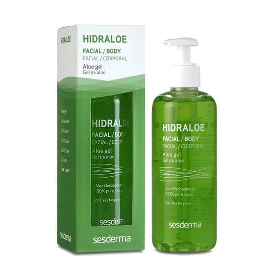 Hidraloe Gel de Aloe es ideal para pieles sensibles.