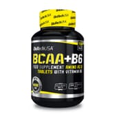 Conserva a tua massa muscular e evita o catabolismo com BCAA + B6.