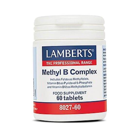 Methyl B Complex aporta las formas más biodisponibles de algunas vitaminas.