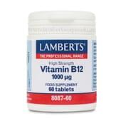 Vitamina B12 1000µg da Lamberts é apta para vegetarianos.