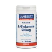Protege tus músculos con L-Glutamina 500mg.