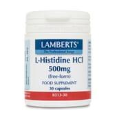 Favorisez la réparation de vos tissus avec Chlorhydrate de L-Histidine 500 mg de Lamberts.