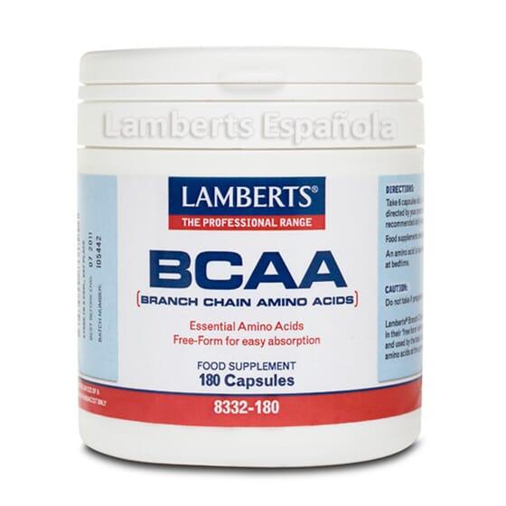 Protege os teus músculos com BCAA da Lamberts.