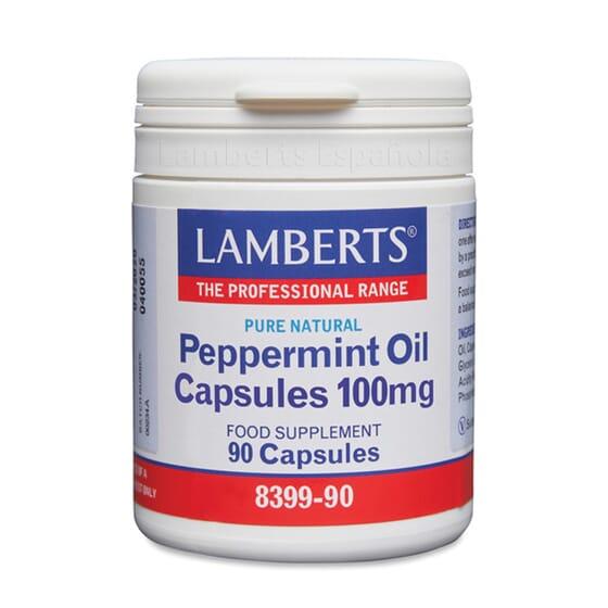 Cuida o teu sistema digestivo com as cápsulas do Óleo de Hortelã-Pimenta.