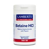 Cuida o teu sistema digestivo com as cápsulas de Betaína HCI om Pepsina.