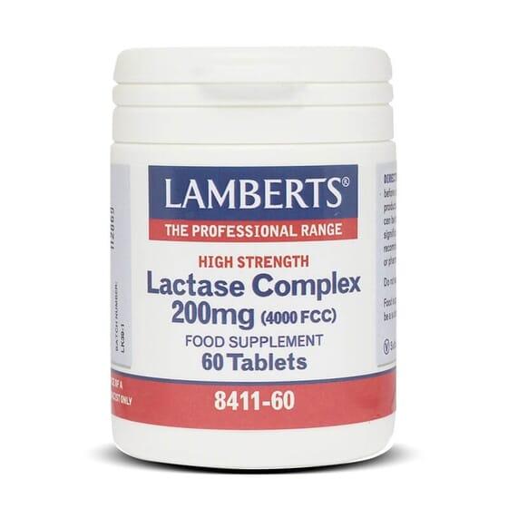 Favorece a digestão da lactose com o Complexo Lactasa da Lamberts.