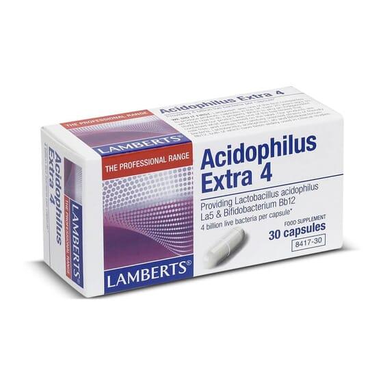 Favorece o bem-estar digestivo com Acidophilus Extra 4.