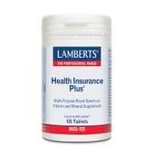 Health Insurance Plus de Lamberts es un completo multivitamínico y mineral.