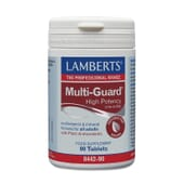 MultiGuard Hing Potency de Lamberts apporte les quantités idéales de vitamines et de minéraux.