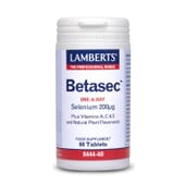 Betasec de Lamberts protege tu organismo del daño oxidativo.